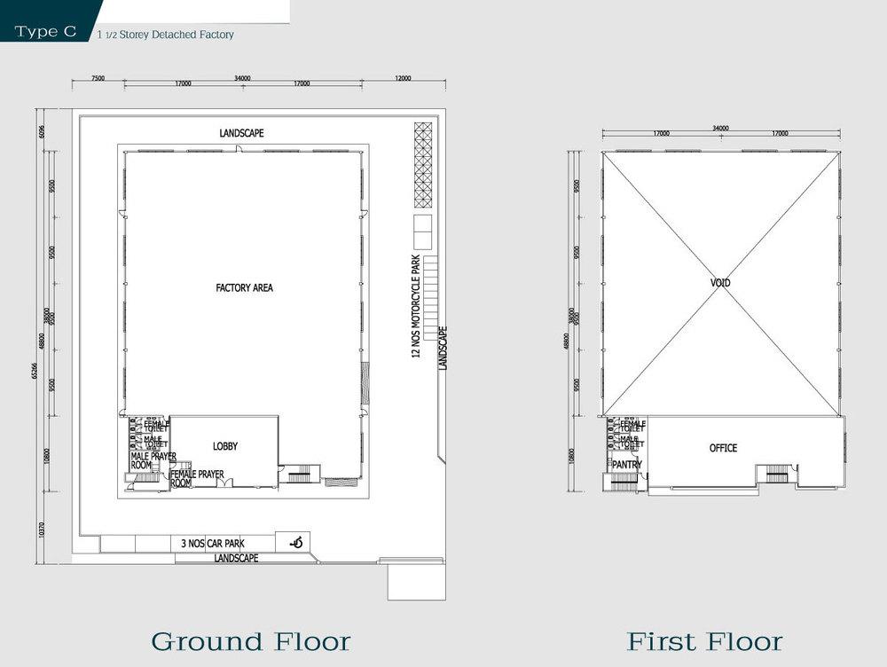i-Park @ SiLC Type C Floor Plan