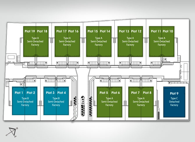 Site Plan of i-Park @ SiLC