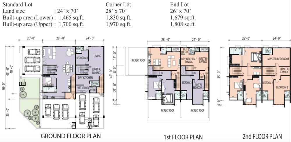 Ipoh Premier City Abel Floor Plan