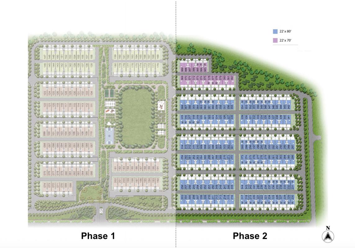Master Plan of Rimbun Vista