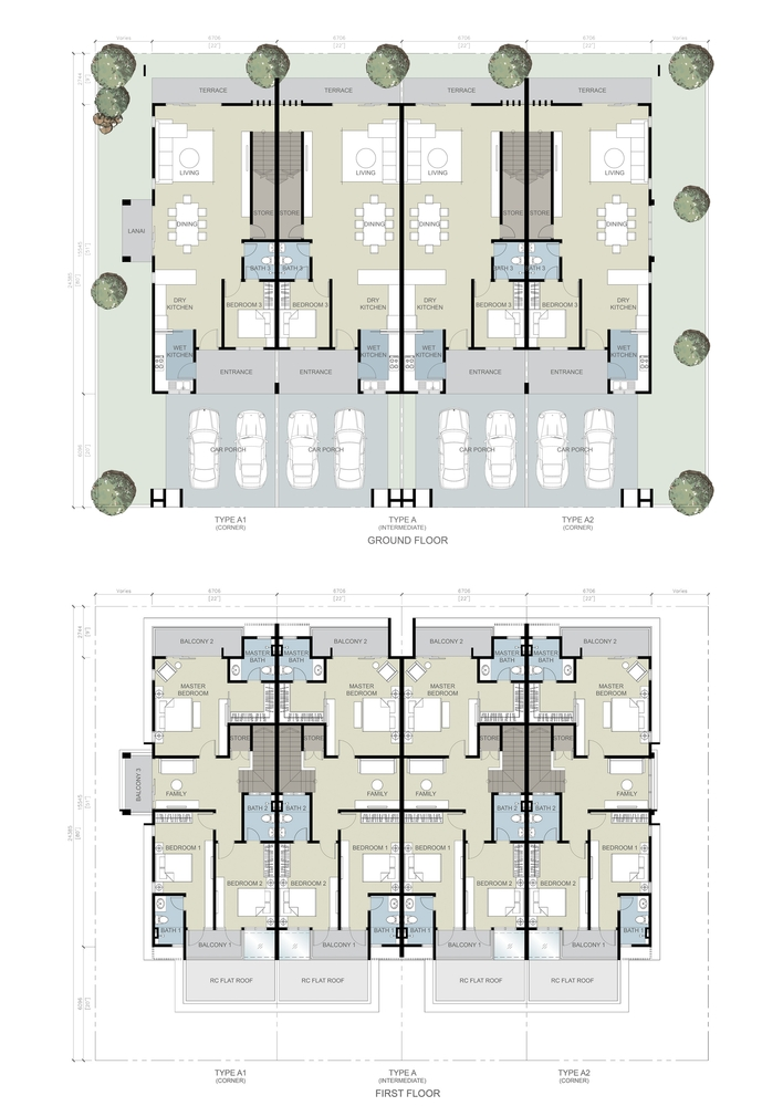 The Gulf Muraya Link Floor Plan