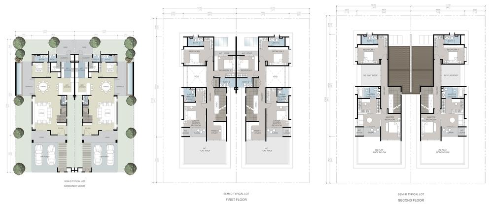 The Gulf Rafia Villa Floor Plan