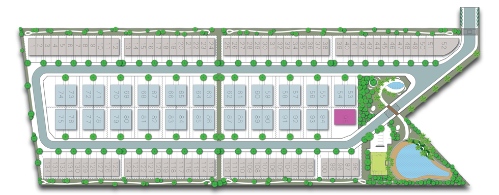 Site Plan of The Gulf