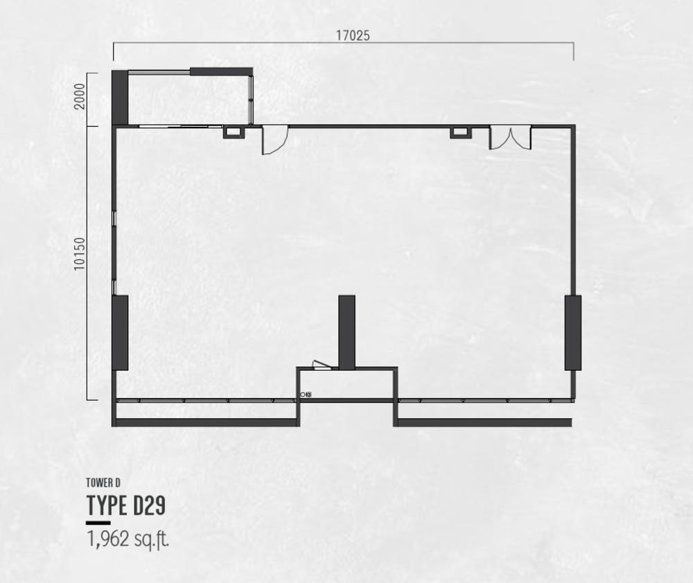 Millerz Square Tower D Type D29 Floor Plan
