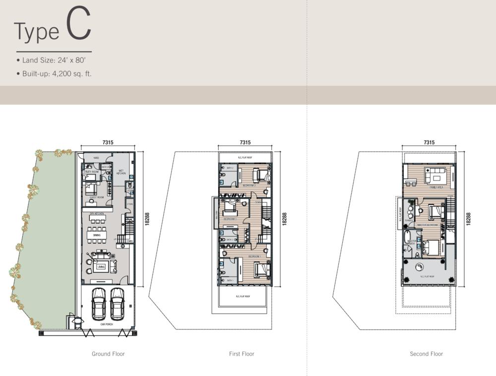Kalista Park Homes Type C Floor Plan