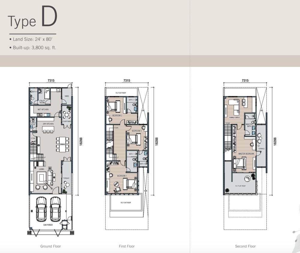 Kalista Park Homes Type D Floor Plan
