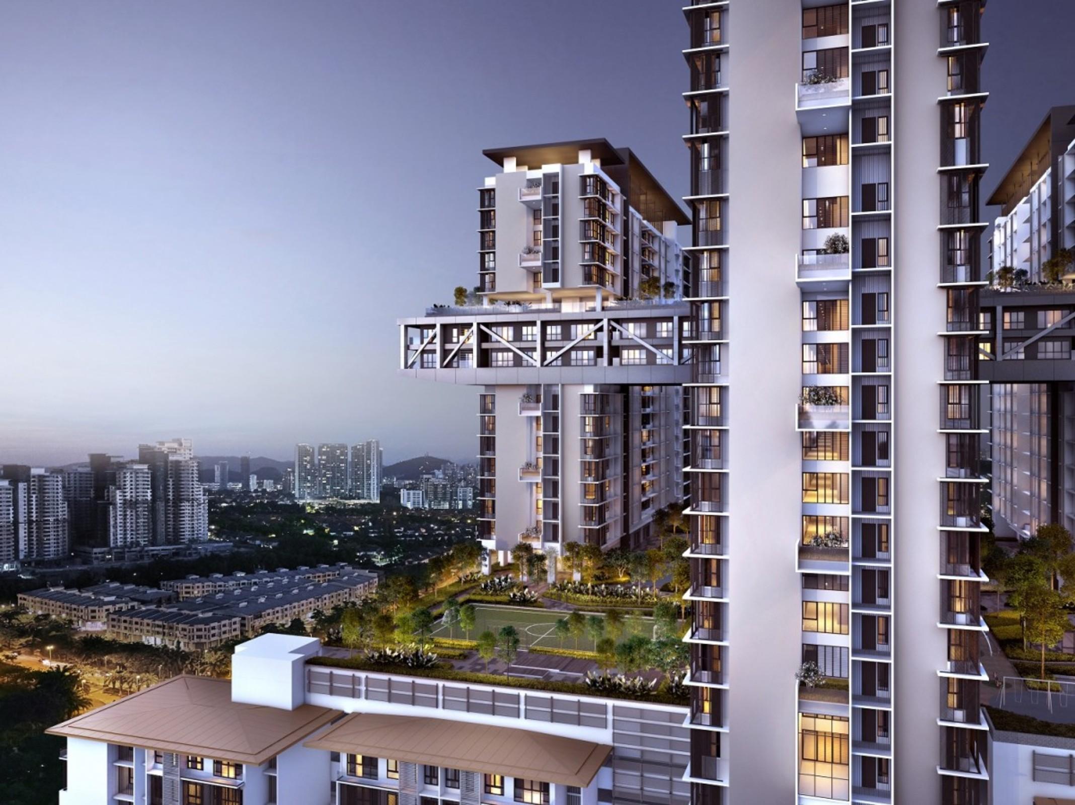 Ara damansara house for sale cantara residences aerial view