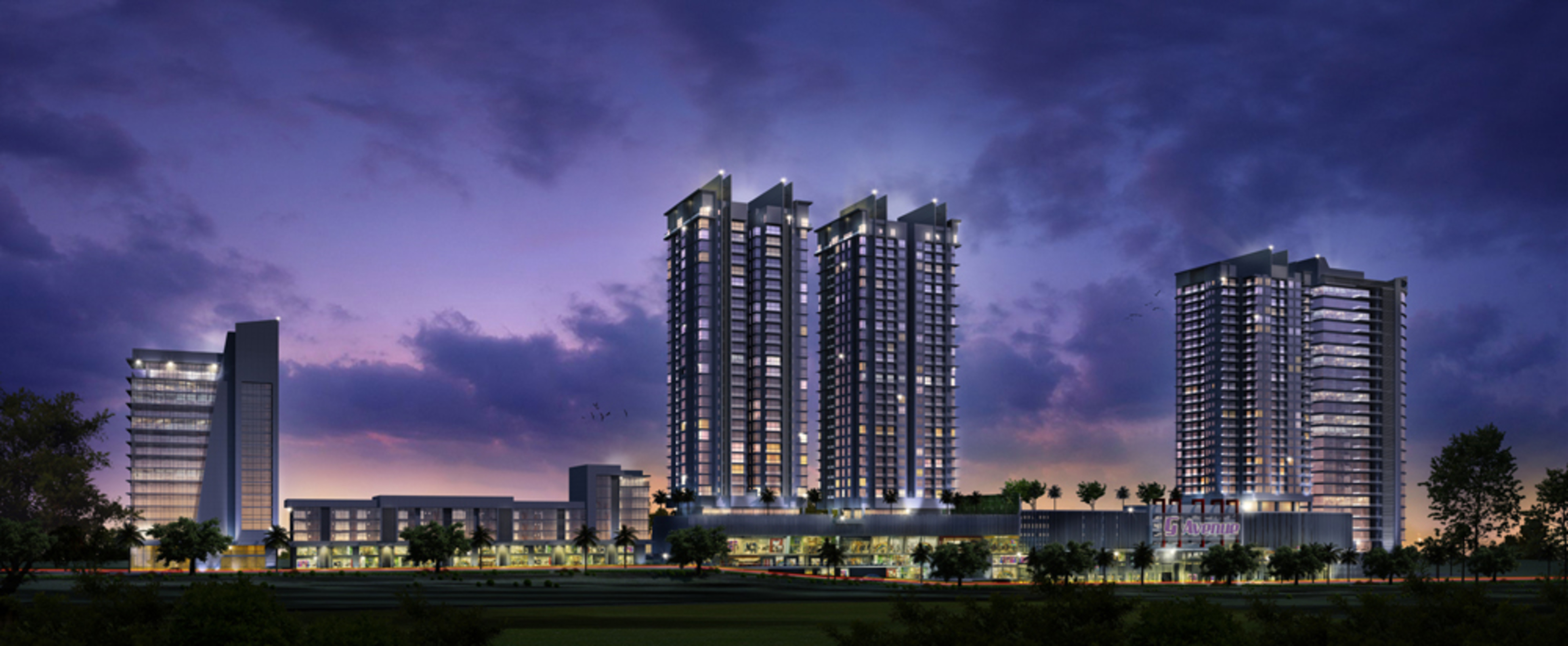 Ttdi serviced apartment for sale glomac damansara residence 5