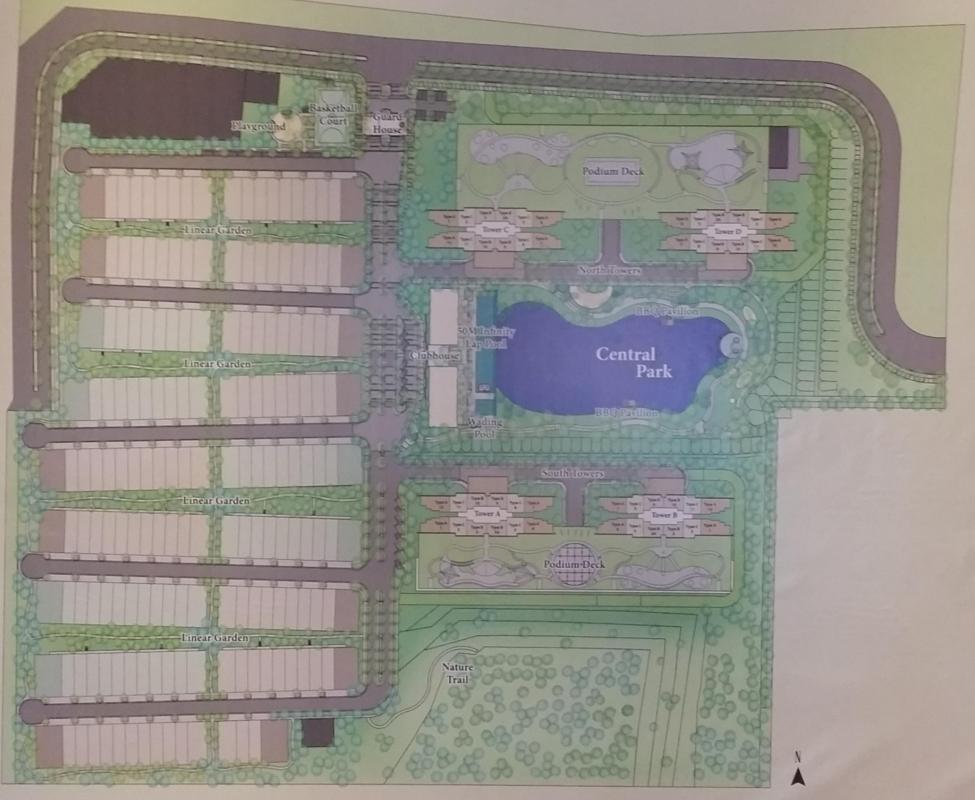 Master Plan of Emerald Hills
