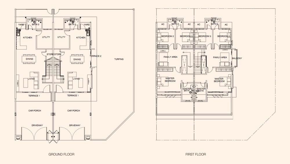 Azalea @ Puncak Bestari 2 Azalea Type A Floor Plan