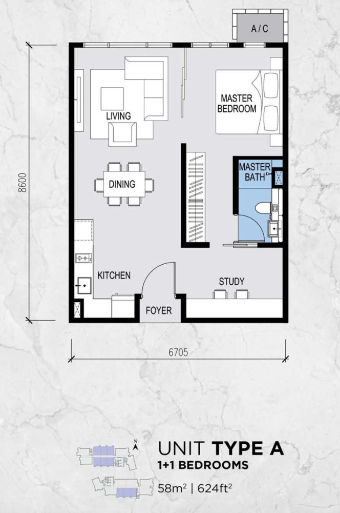 Lot 15 Type A Floor Plan