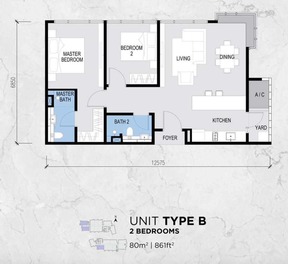 Lot 15 Type B Floor Plan