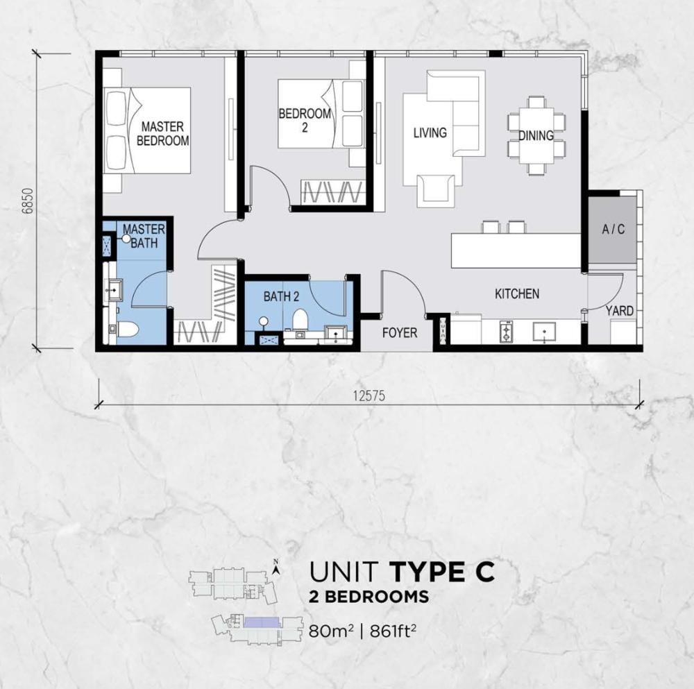 Lot 15 Type C Floor Plan