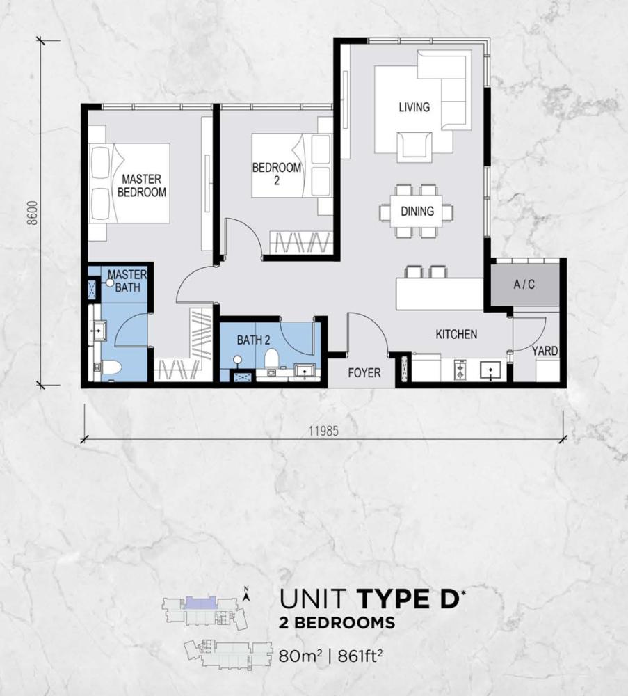 Lot 15 Type D Floor Plan
