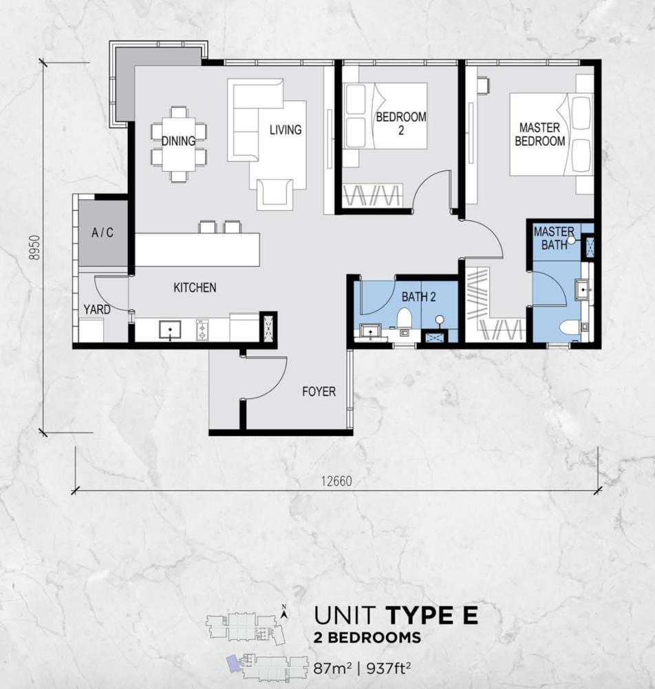 Lot 15 Type E Floor Plan