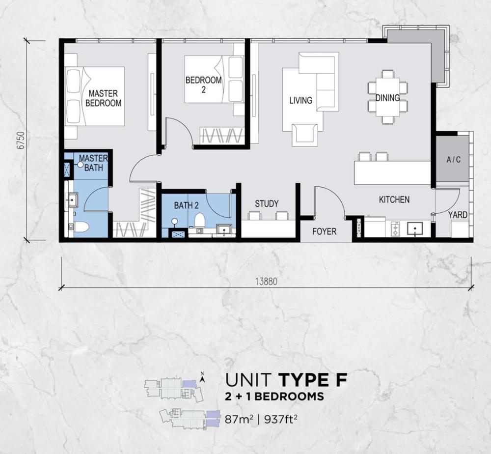 Lot 15 Type F Floor Plan