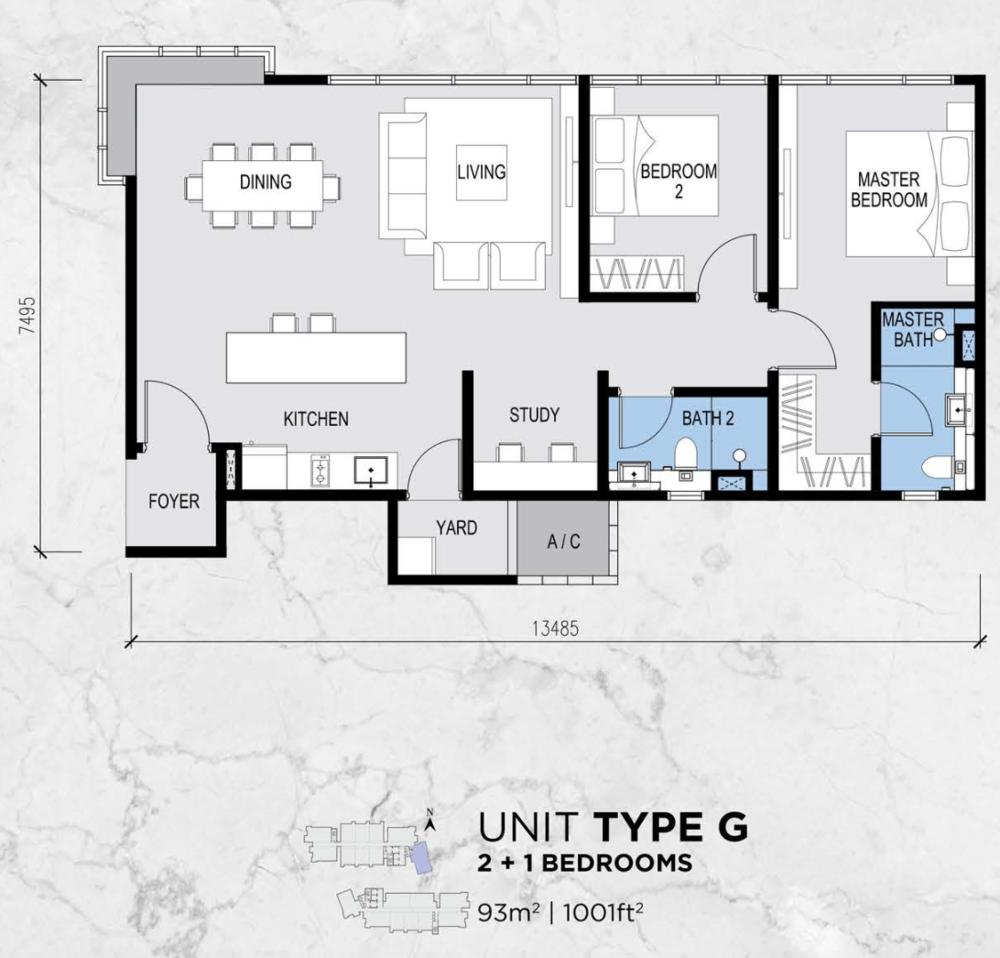 Lot 15 Type G Floor Plan