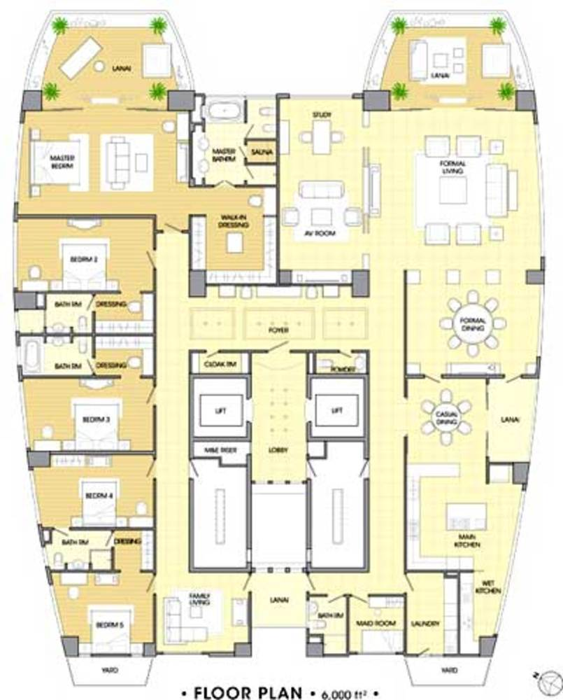 The Cove Typical Floor Plan