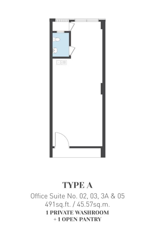 ARCA @ Klang ARCA Tower - Type A Floor Plan