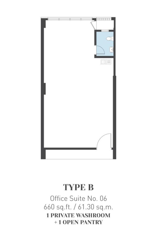ARCA @ Klang ARCA Tower - Type B Floor Plan