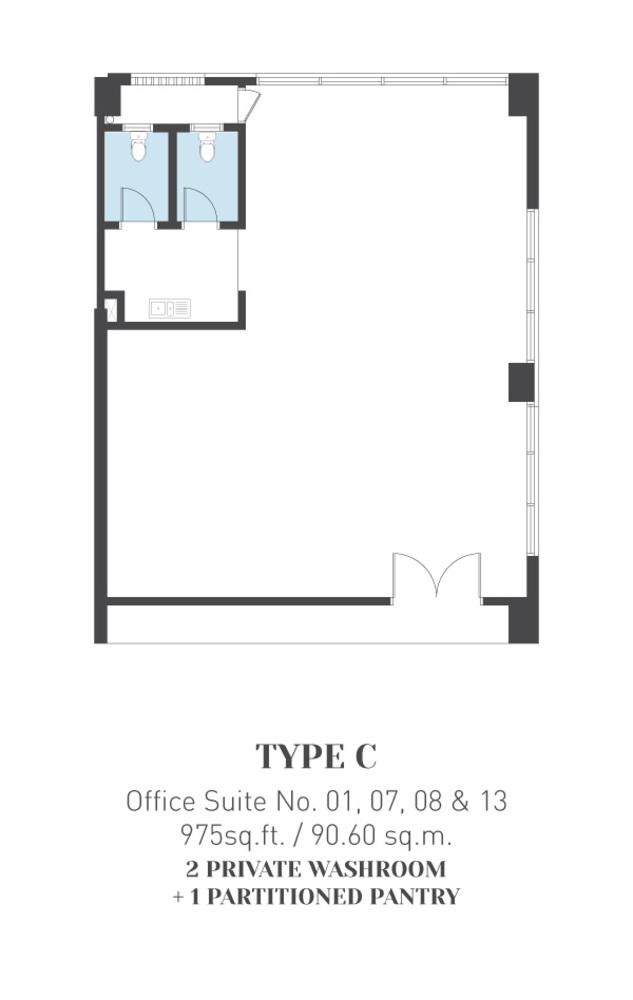 ARCA @ Klang ARCA Tower - Type C Floor Plan