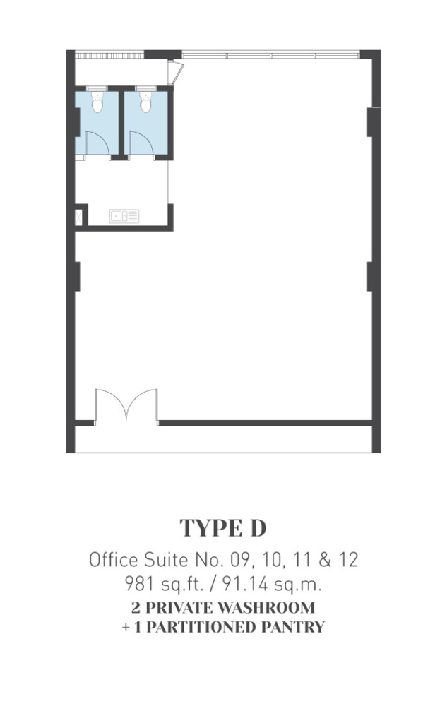 ARCA @ Klang ARCA Tower - Type D Floor Plan