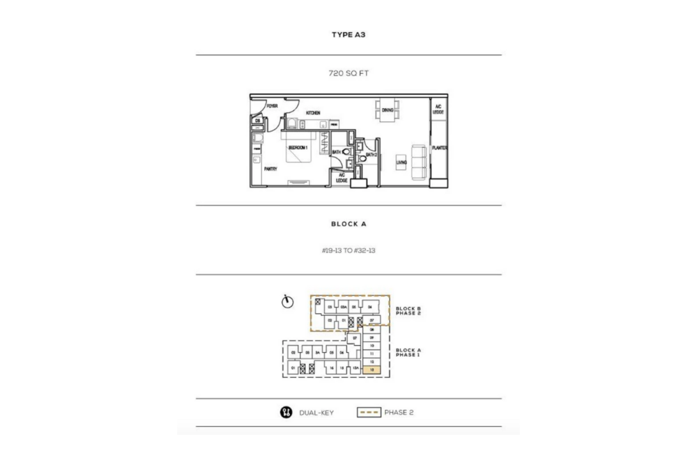 The Luxe by Infinitum Type A3 Floor Plan
