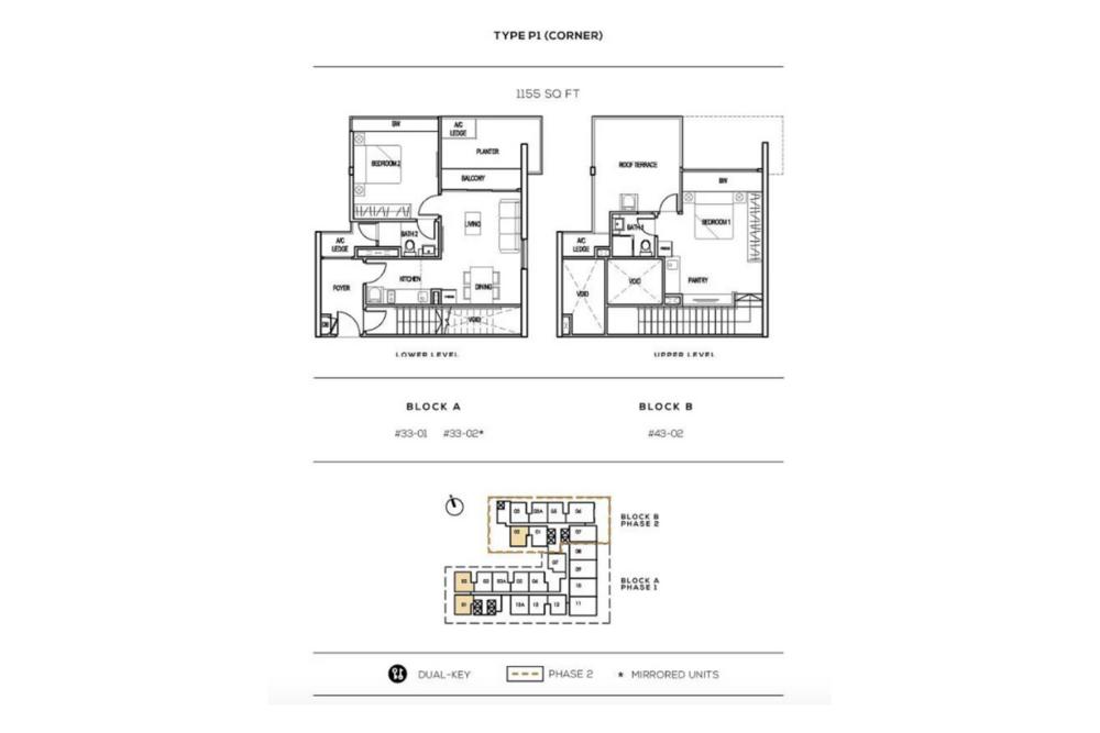 The Luxe by Infinitum Type P1(C) Floor Plan