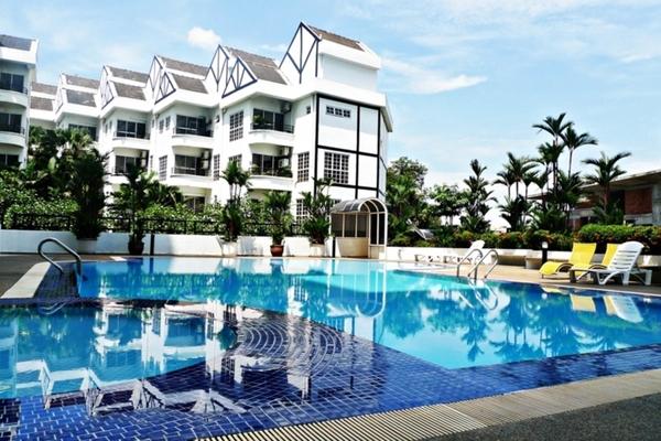 Bukit Robson Condominium in Seputeh