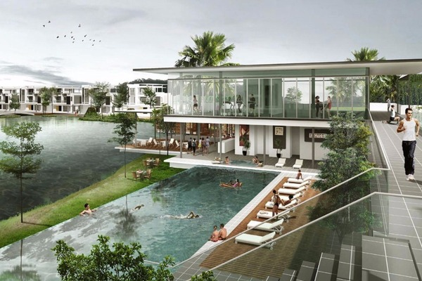 Cinta Sayang Resort Villas in Kedah