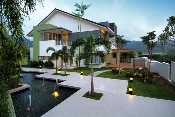 Twin Palms in Bandar Sungai Long