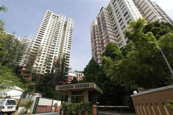 Cameron Towers in Gasing Heights