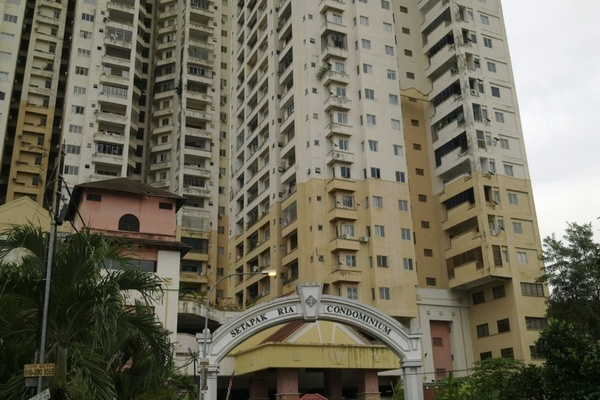 Setapak Ria Condominium in Setapak