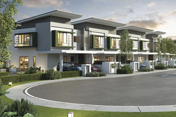 Aida Homes @ Gamuda Gardens in Gamuda Gardens
