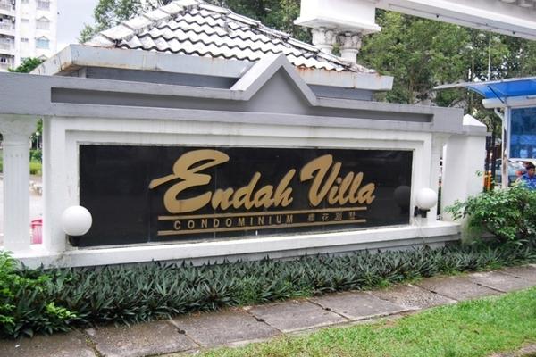 Endah Villa in Sri Petaling