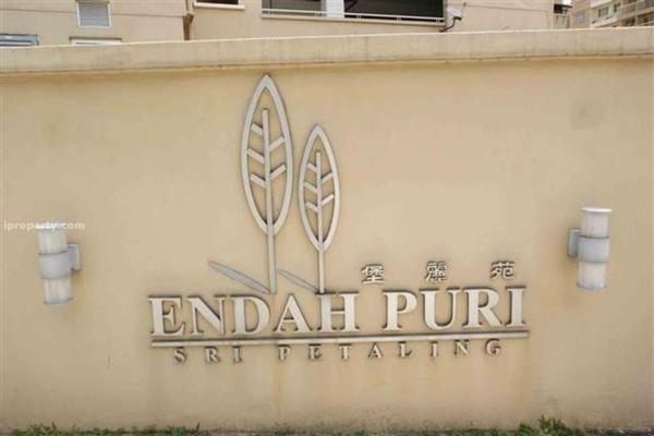 Endah Puri in Sri Petaling