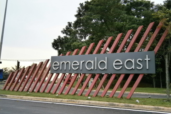 Emerald East's cover picture