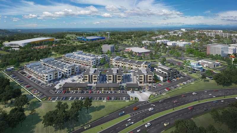 Uptown   rimbayu aerial view truncate
