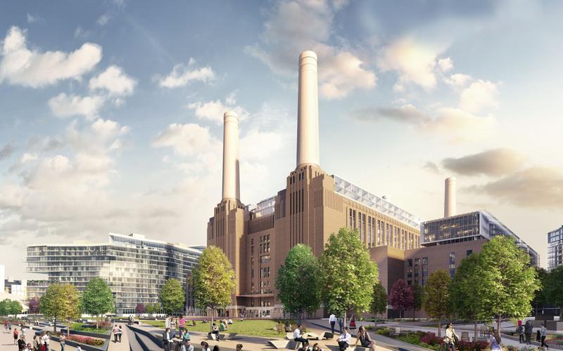 Battersea power station truncate