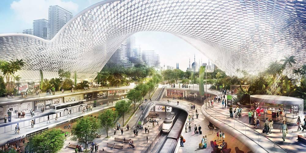 Propsocial property bandar malaysia hsr underground city