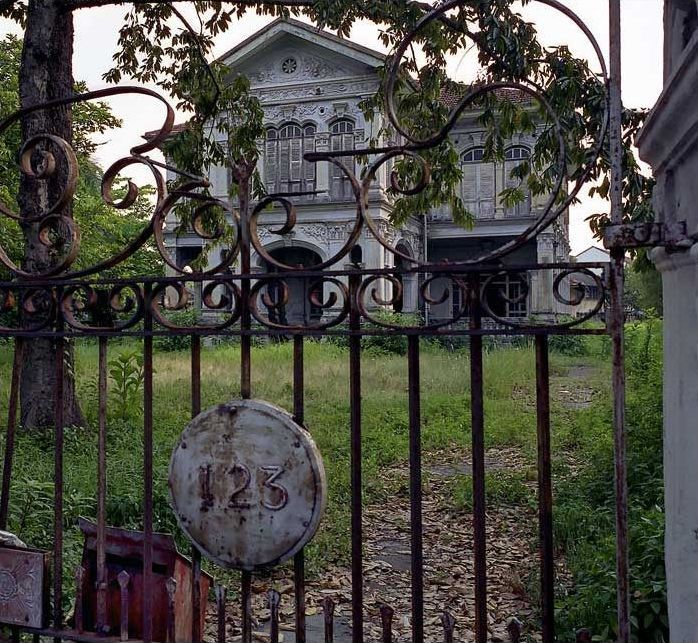 Properties with a dark past liability or daring investment  abandoned home