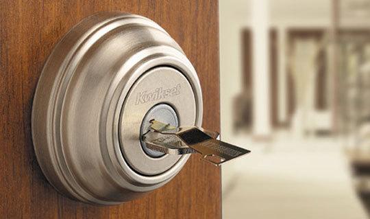Front door lock truncate