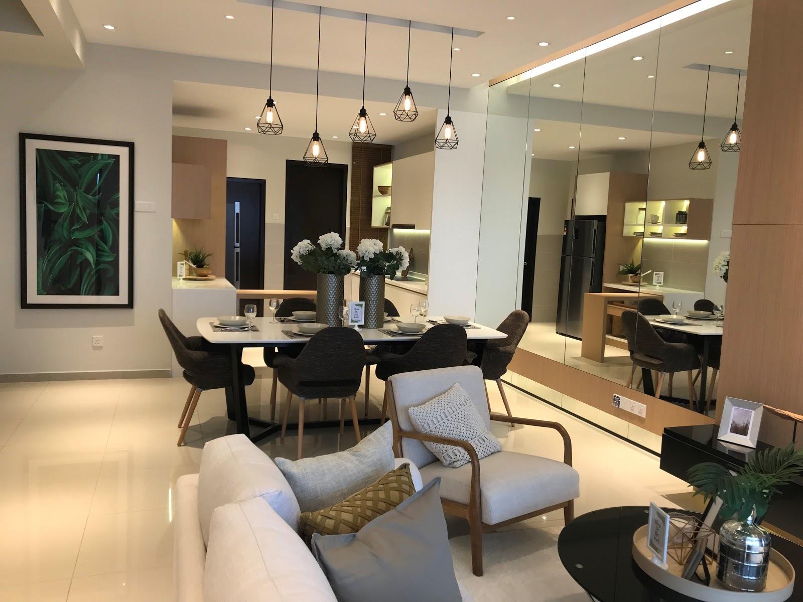 Puncak bestari 2 house for sale azalea living and dining