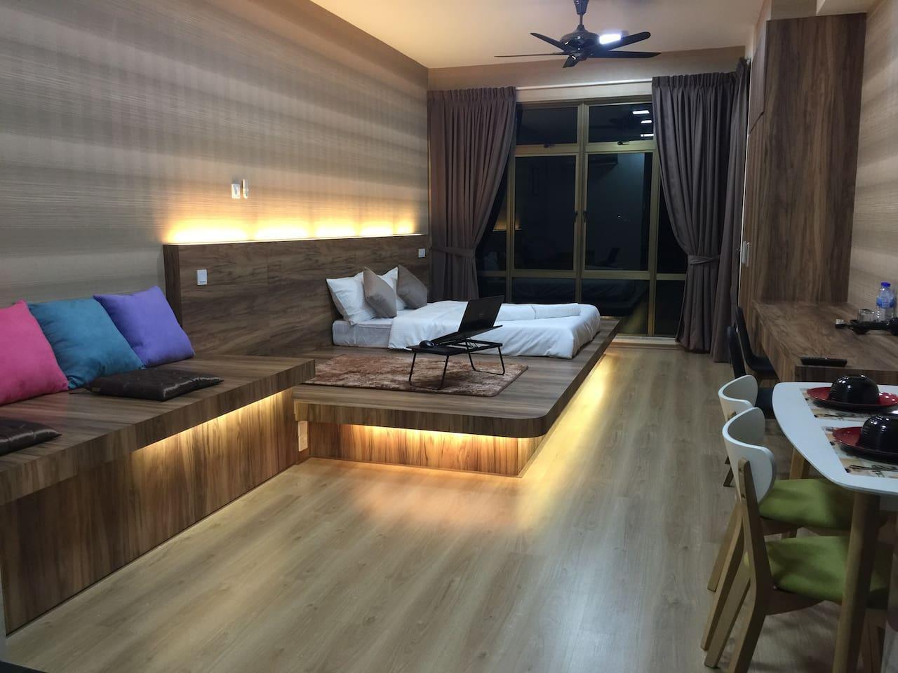 8 airbnbs in johor bahru parc regency