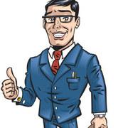 Cartoon business man 02 small
