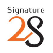 Signature 28 logo  custom  small